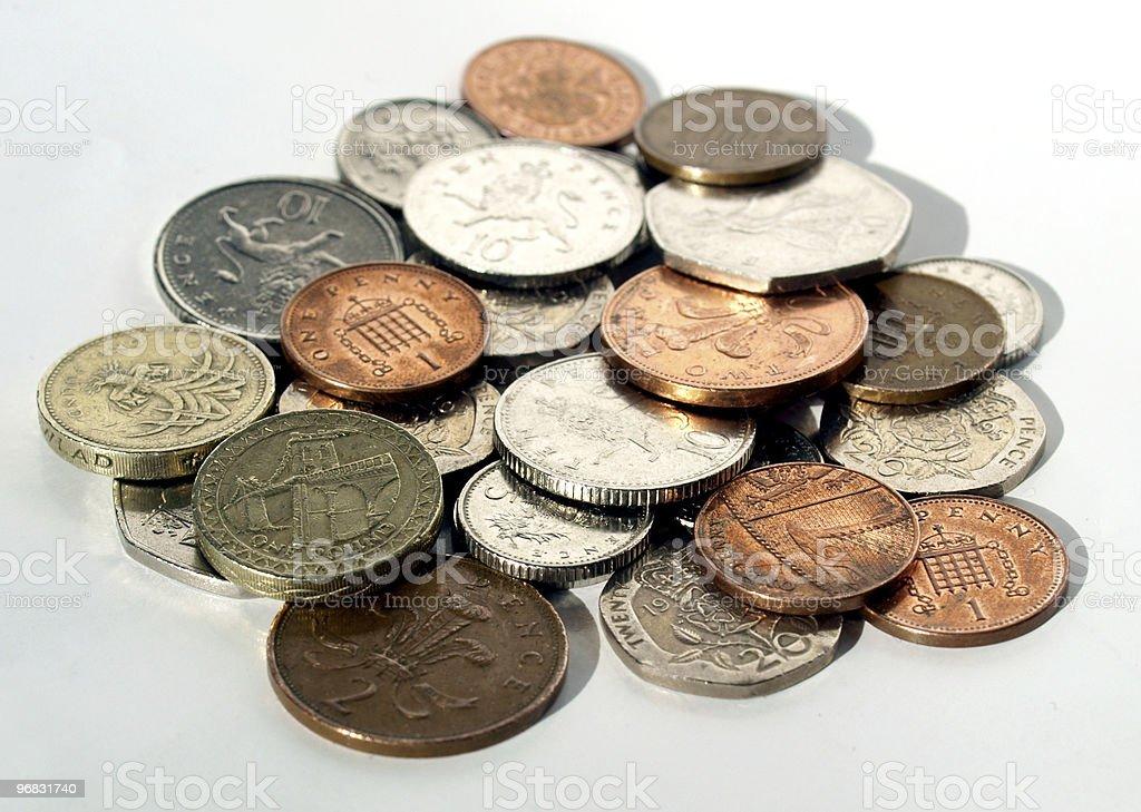 Pounds royalty-free stock photo