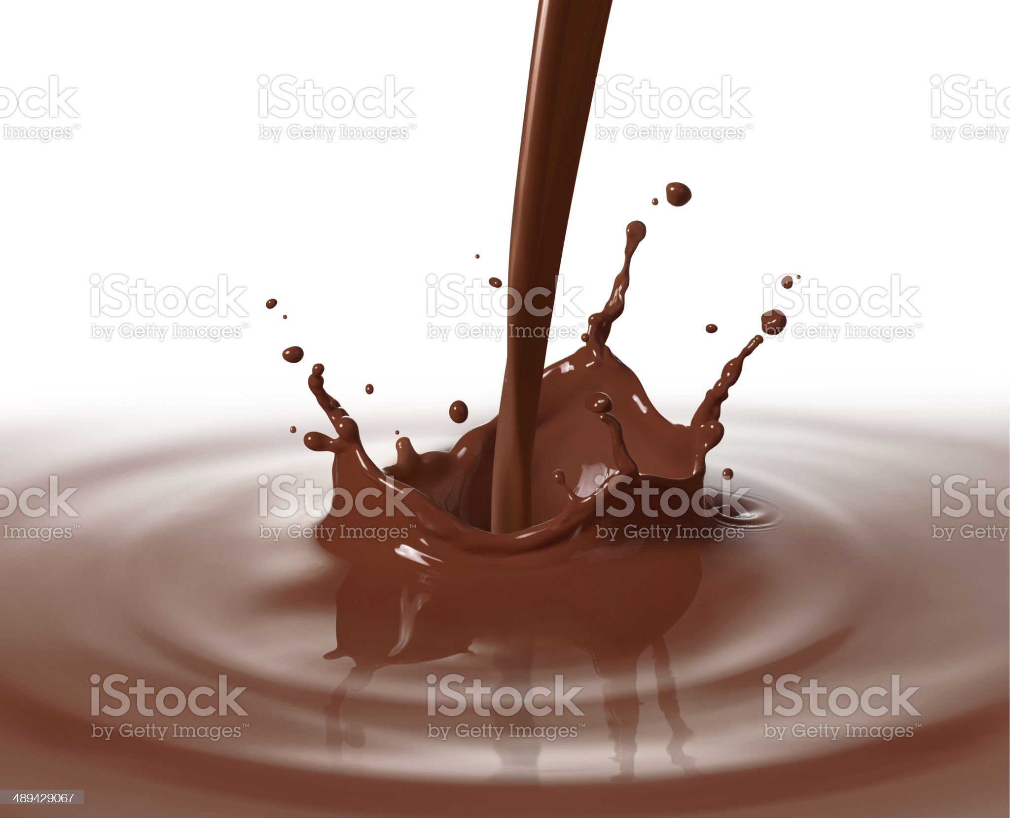 pouring chocolate royalty-free stock photo