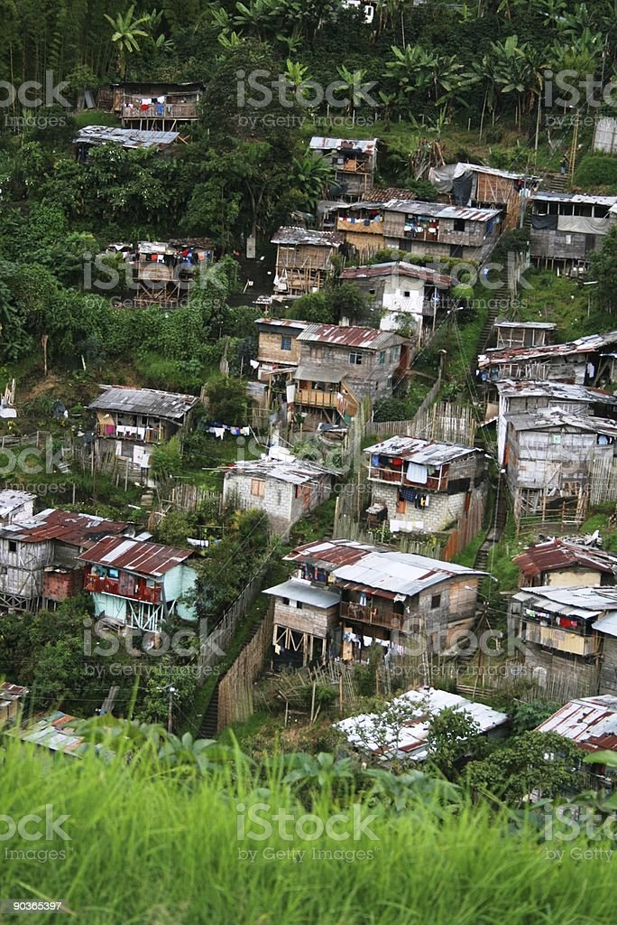 Poverty in Latin America stock photo