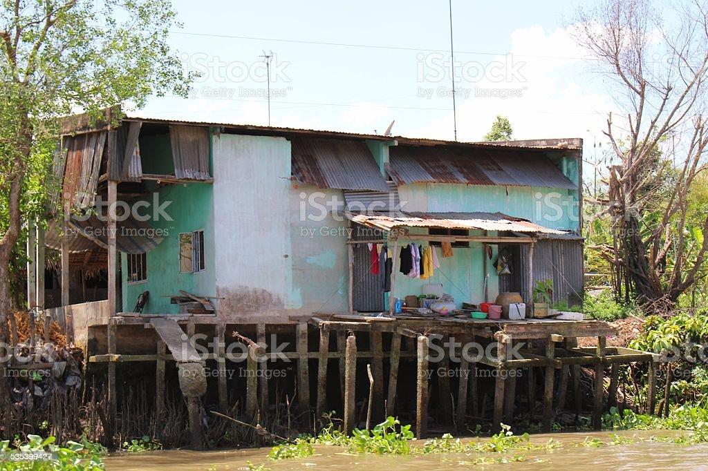 Poverty in Vietnam stock photo