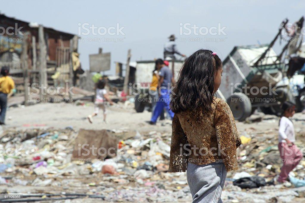 Poverty royalty-free stock photo