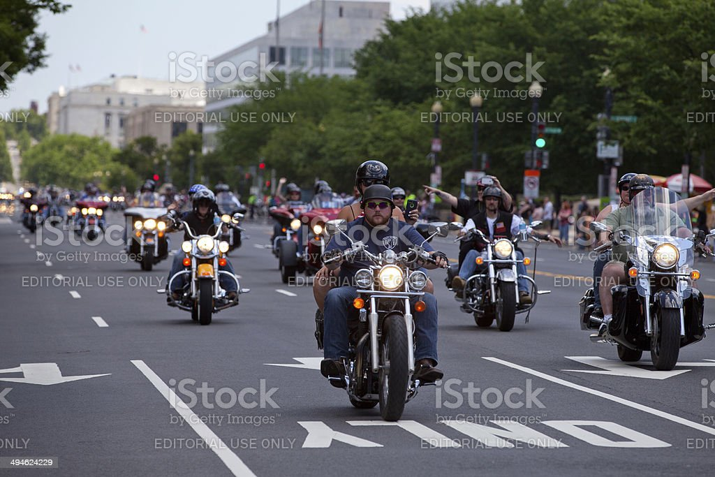 Pow Mia ride stock photo