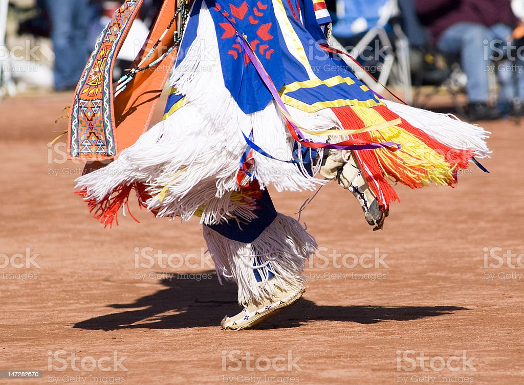 Pow Wow Dancers royalty-free stock photo