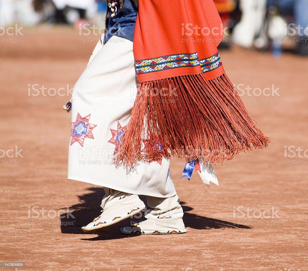 Pow Wow Dancers royalty-free stock photo