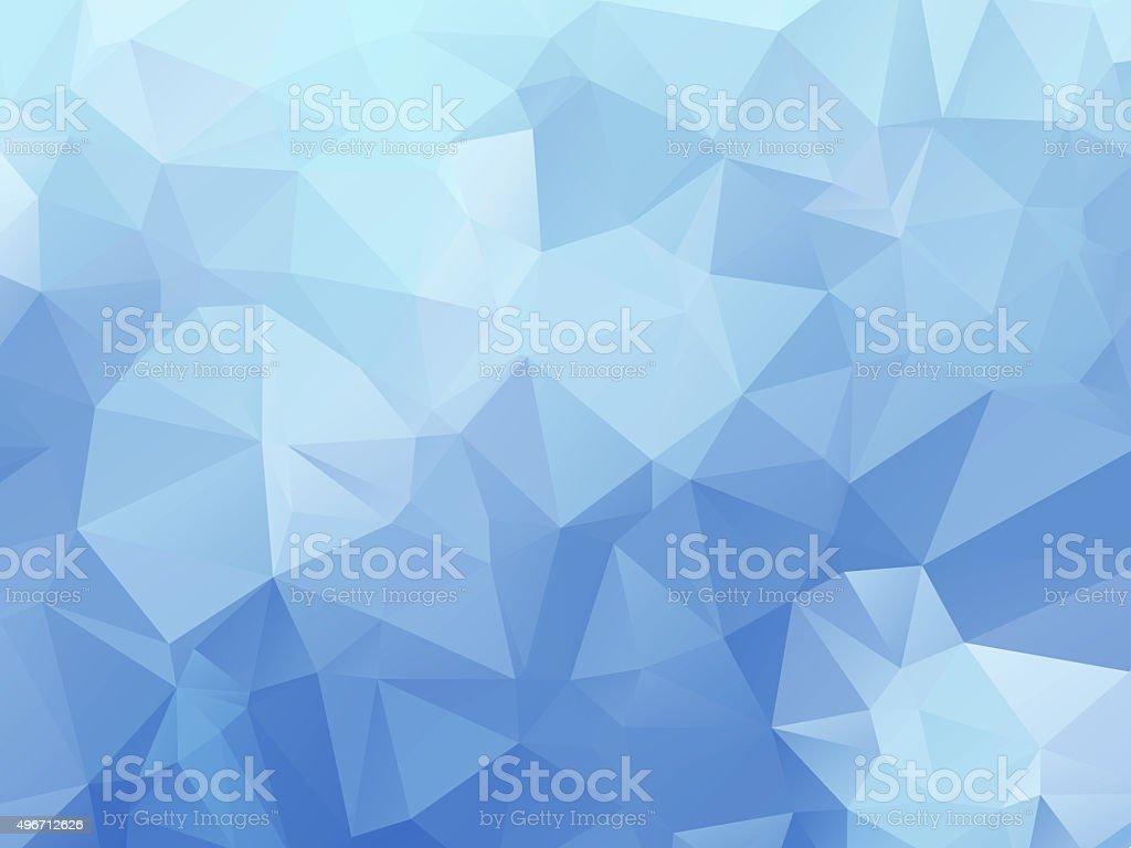 Powder blue triangle background stock photo