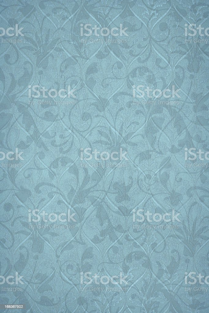 Powder Blue Victorian Background royalty-free stock photo