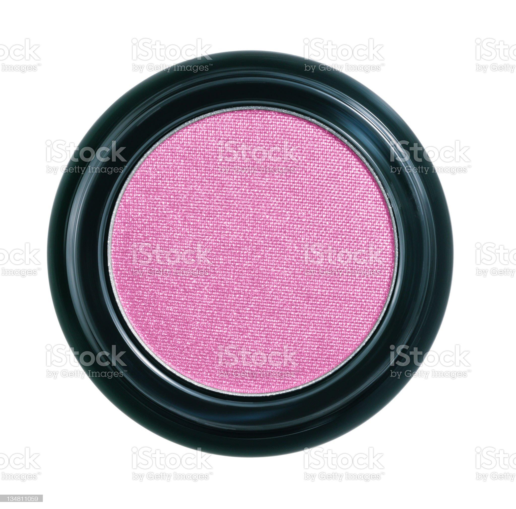 Powder blush royalty-free stock photo