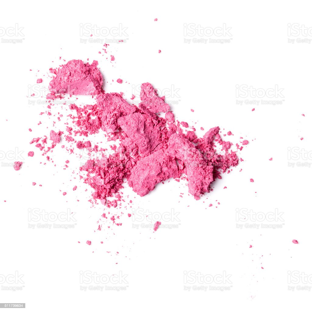 powder blush stock photo