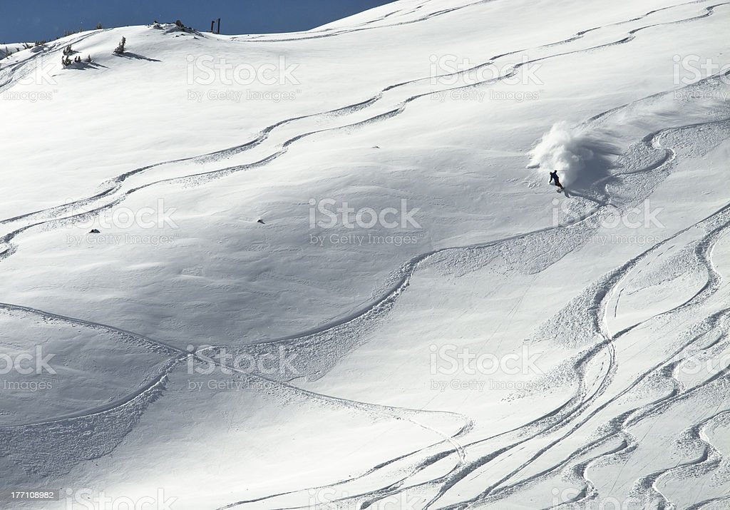 Powder Day stock photo
