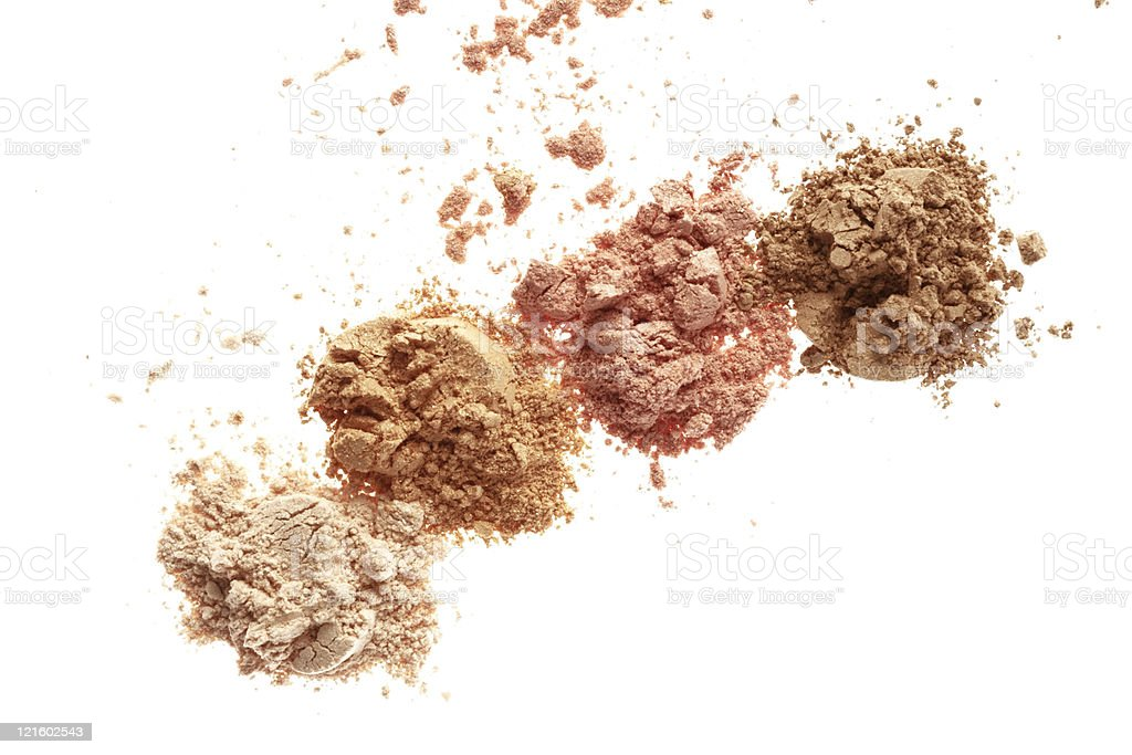 powder maker up royalty-free stock photo