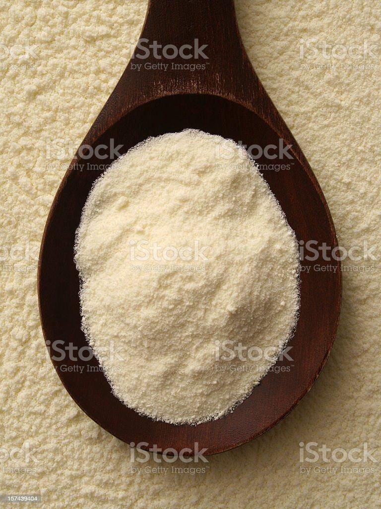Powder milk royalty-free stock photo