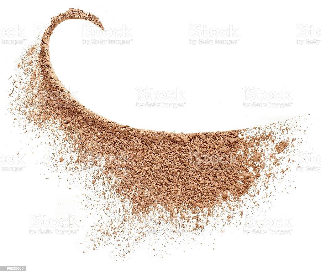 powder, poudre, blush stock photo