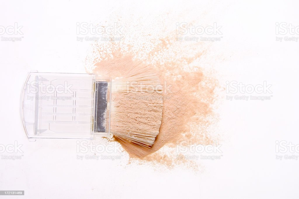 powder splash royalty-free stock photo