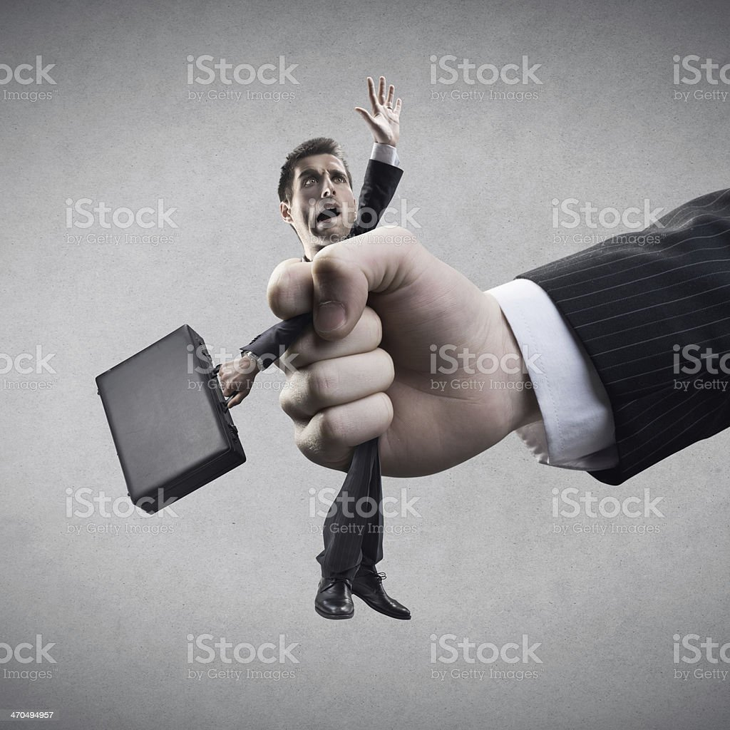 Power and business relationships stock photo
