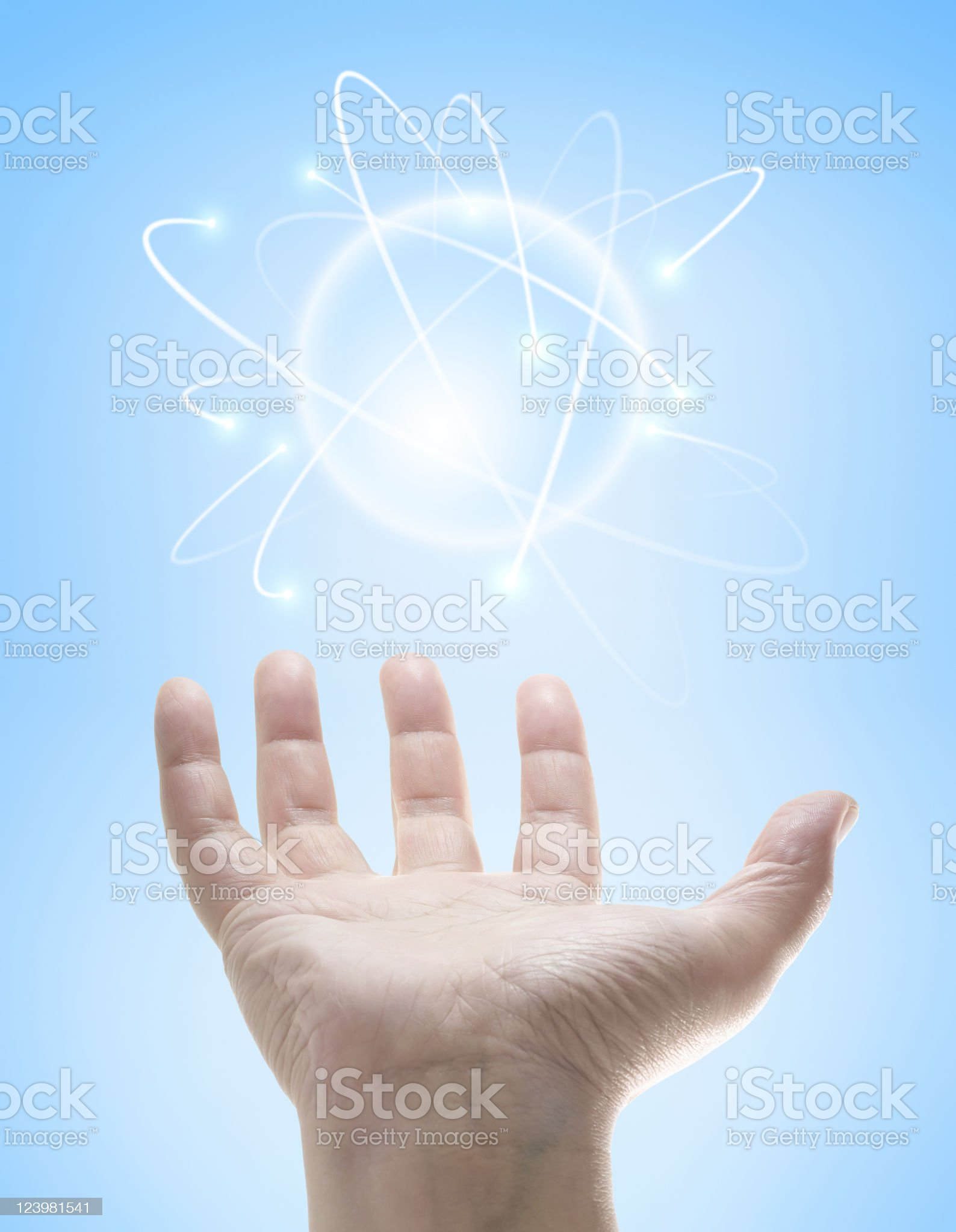 Power Ball royalty-free stock photo
