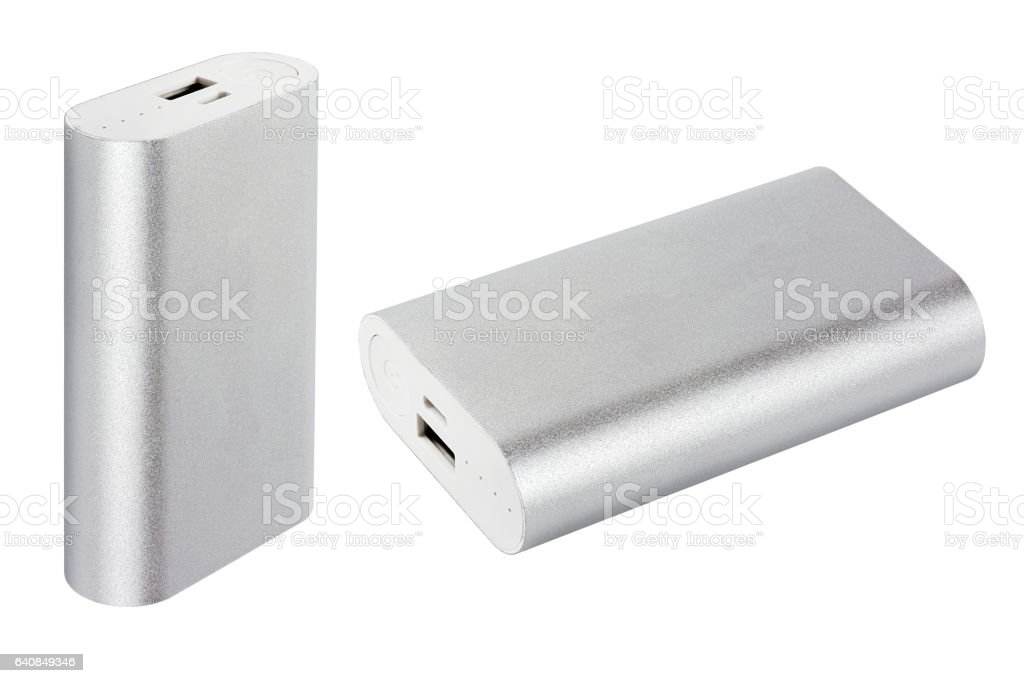 power bank stock photo