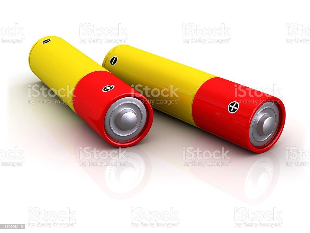 power batteries stock photo