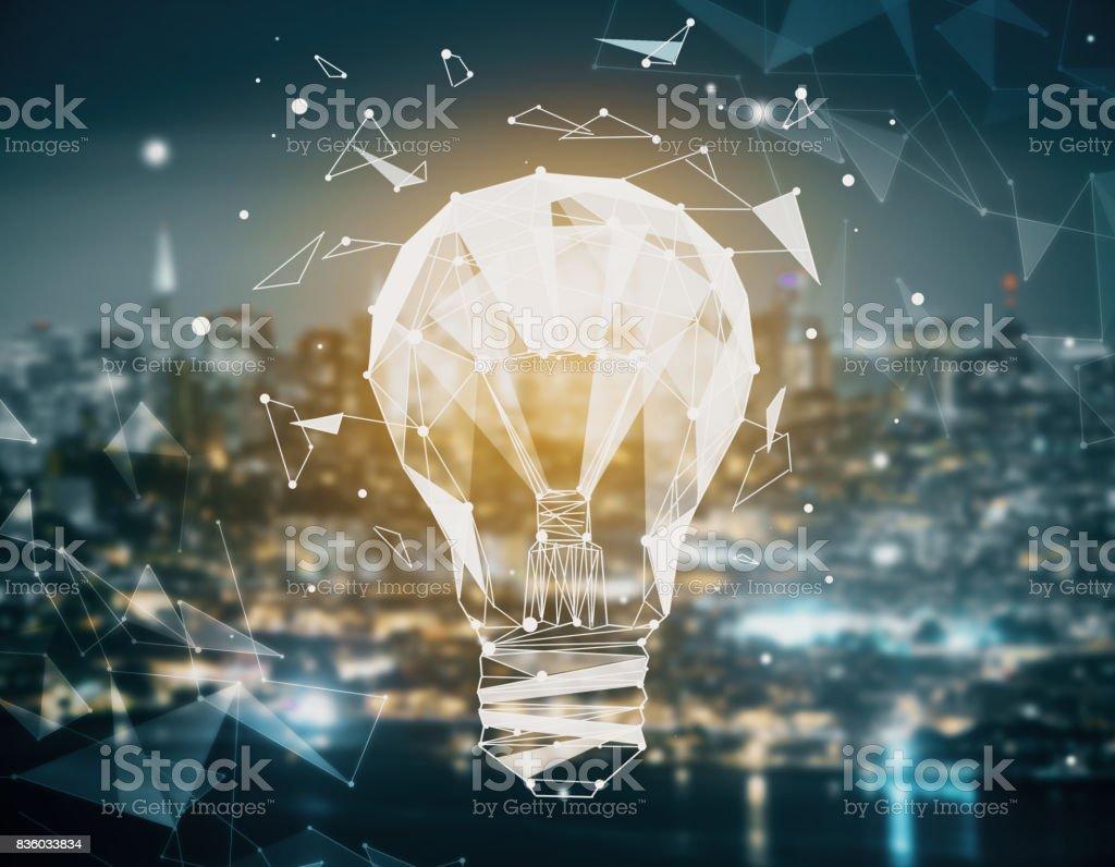 Power concept stock photo