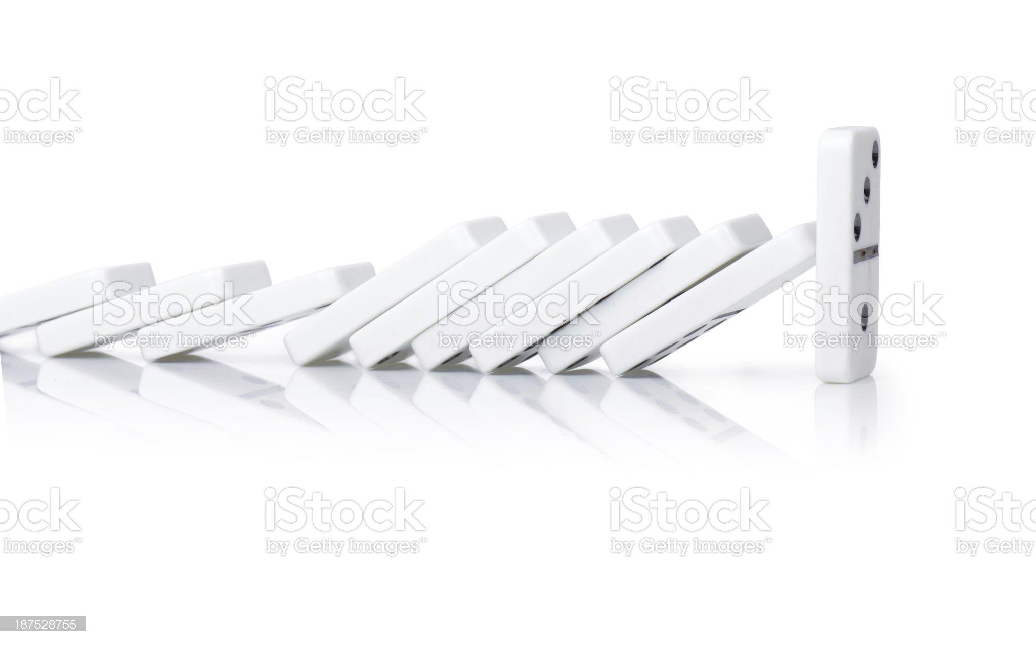 power domino royalty-free stock photo