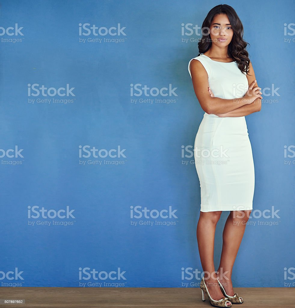 Power dressing for professionals stock photo