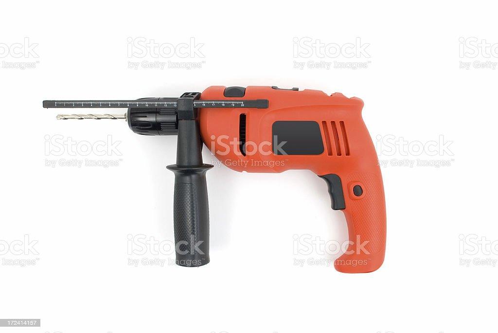 Power drill royalty-free stock photo
