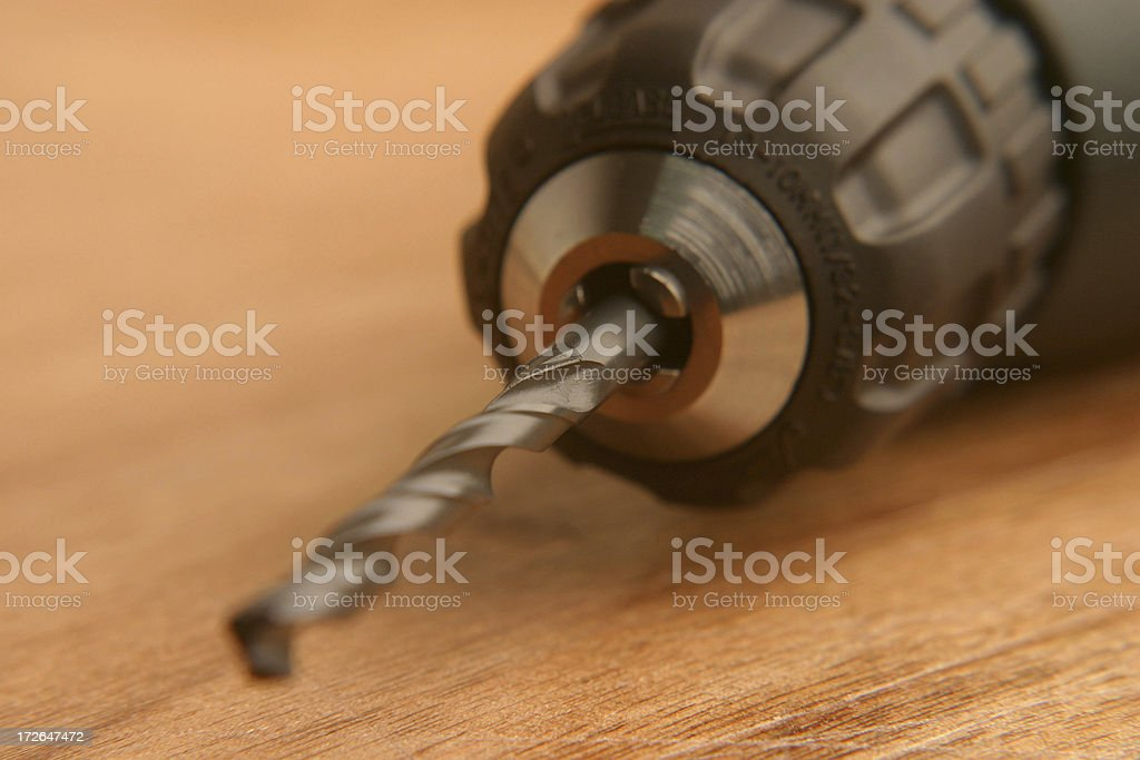 Power Drill royalty-free stock photo