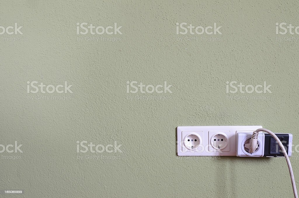Power electricity measurement royalty-free stock photo