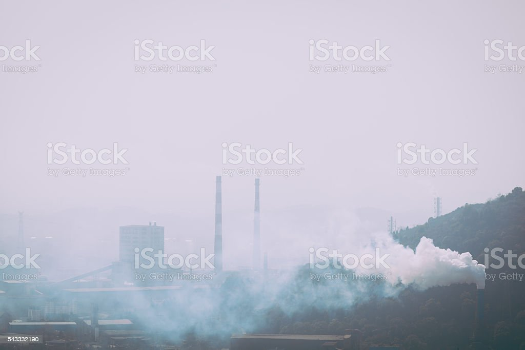 Power factory stock photo