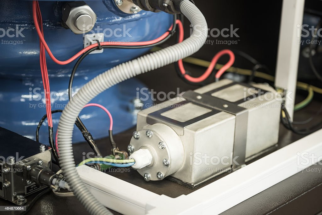 Power filter stock photo
