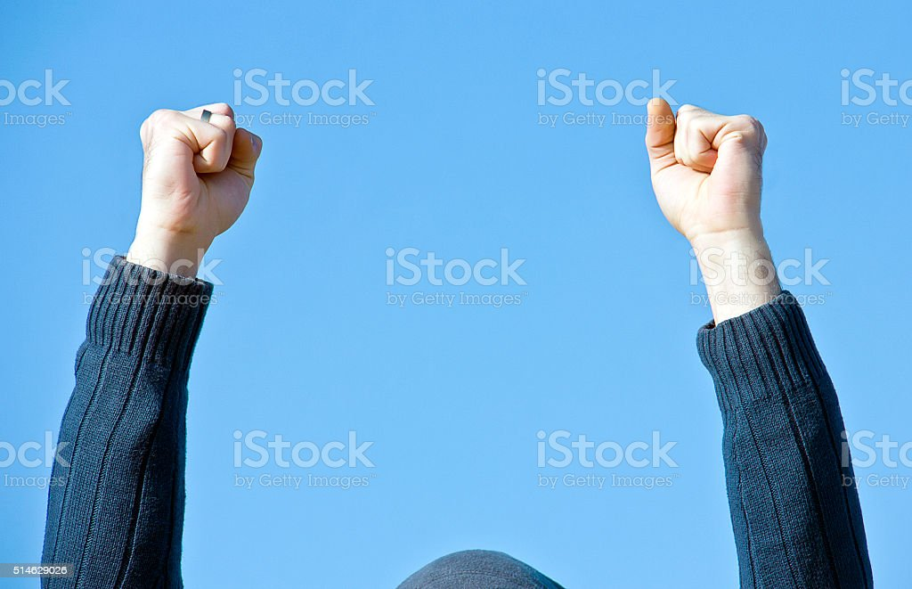 Power Fist stock photo