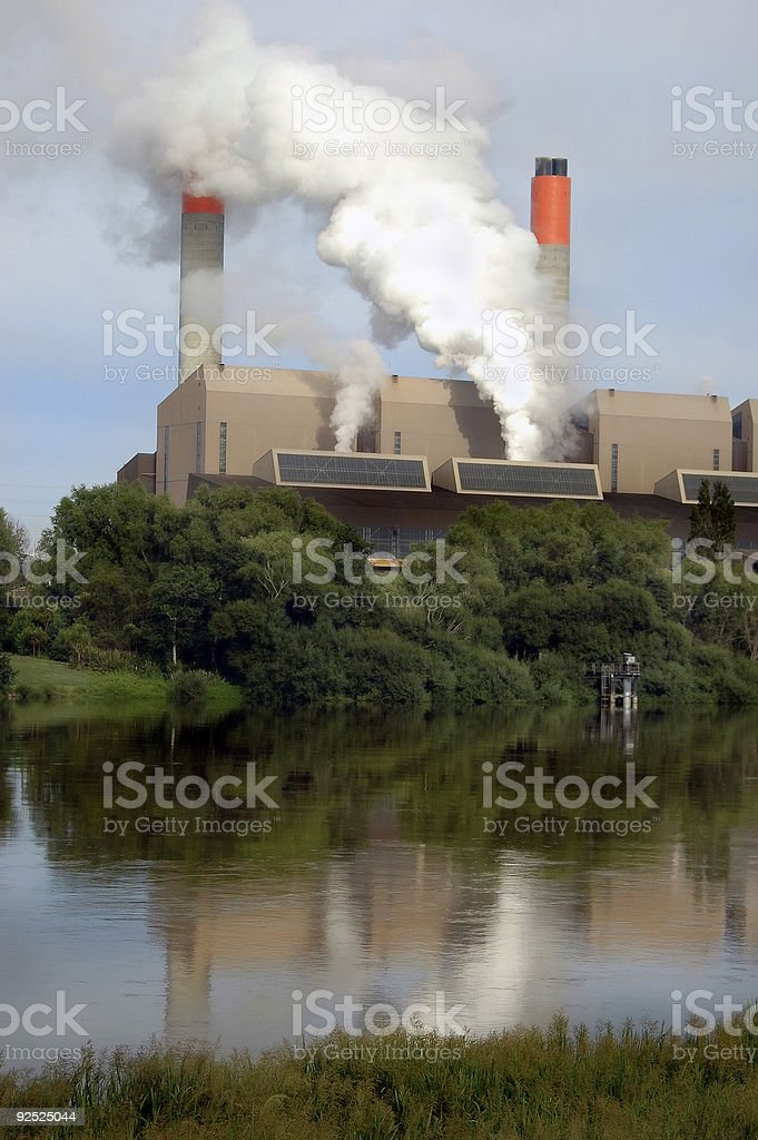 Power Generation Plant royalty-free stock photo