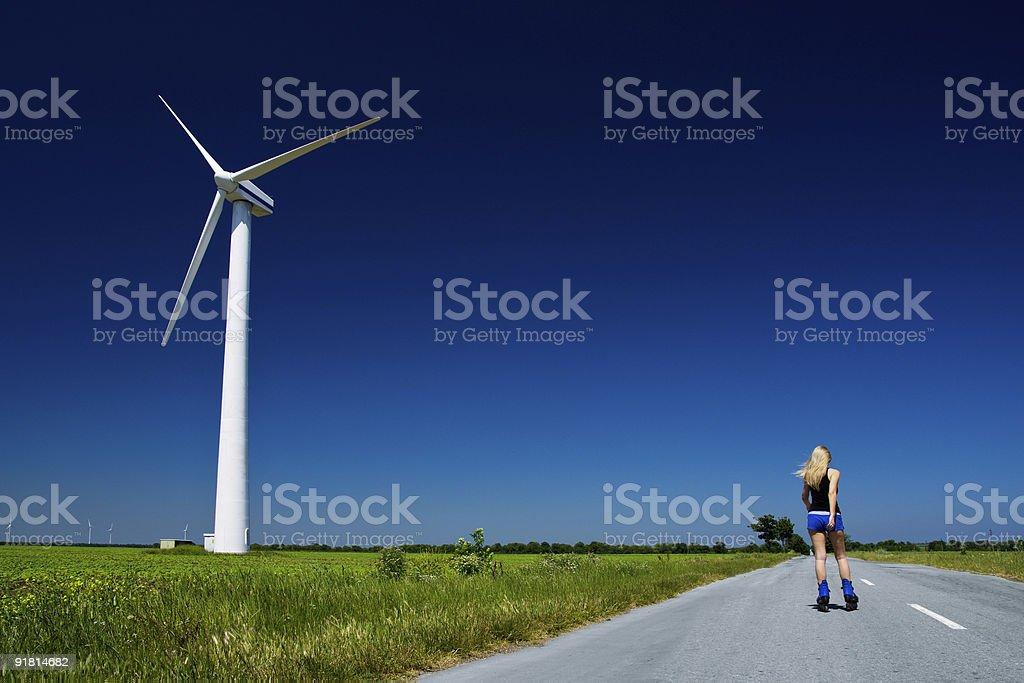 Power generator royalty-free stock photo