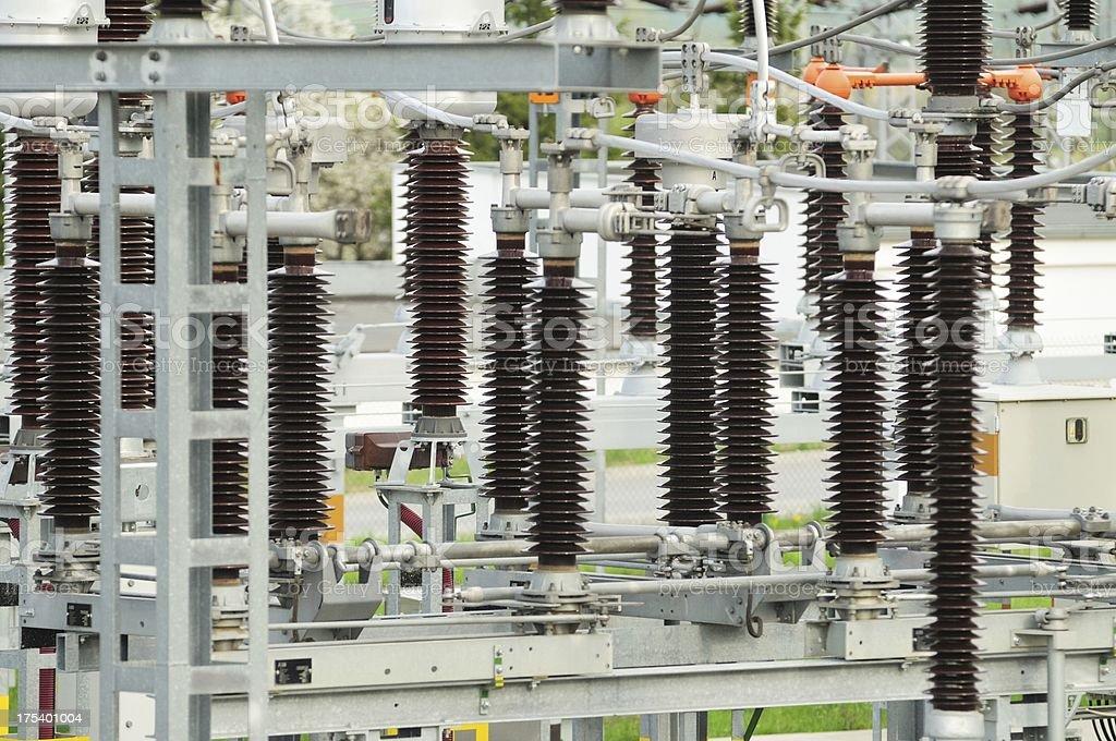 Power generators royalty-free stock photo
