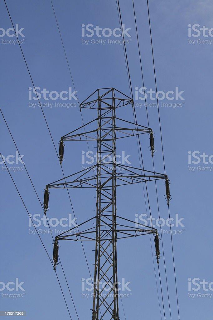 Power grid 1 stock photo