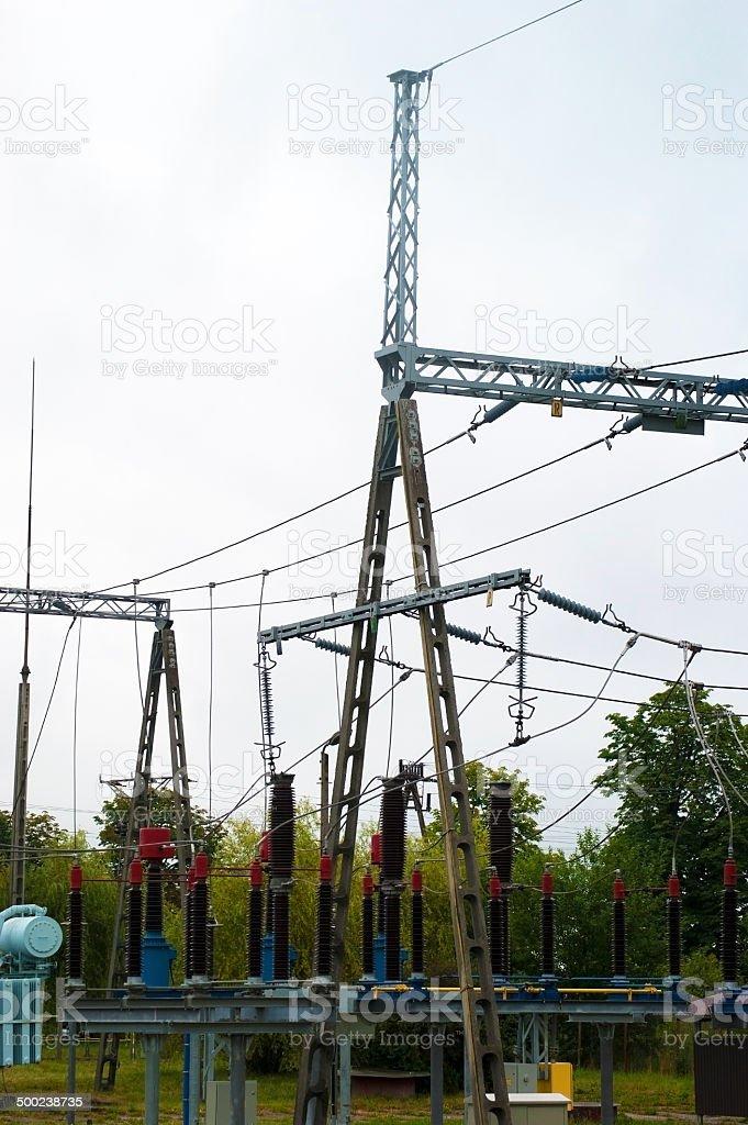 Power Grid royalty-free stock photo