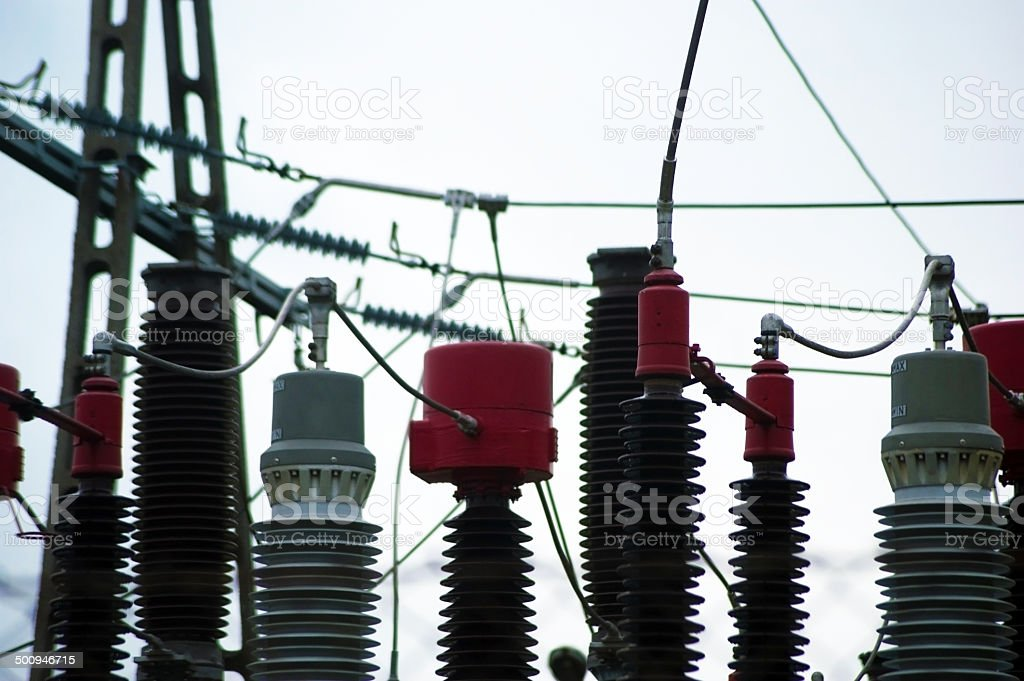 Power Grid royalty-free stock photo