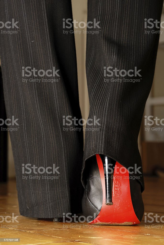 Power Heels royalty-free stock photo