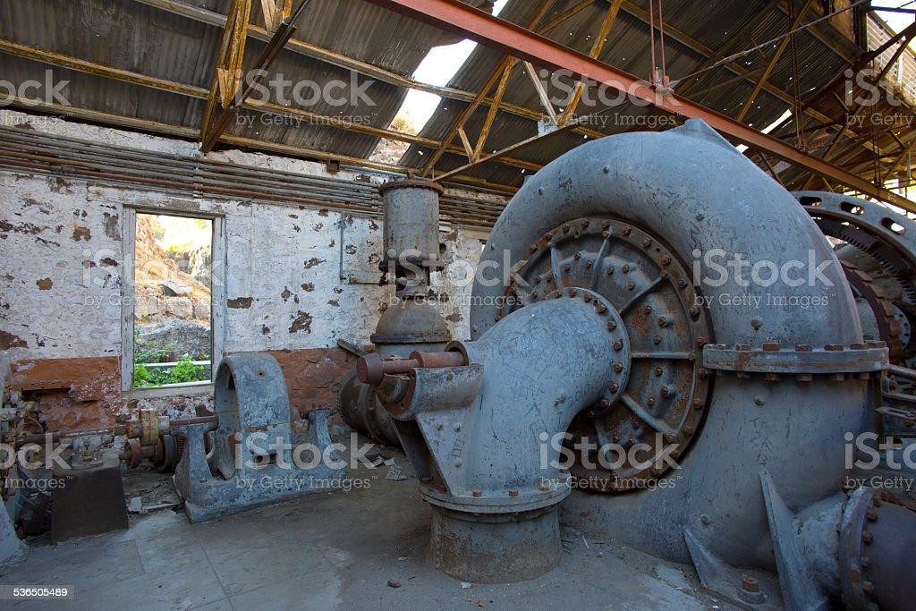 Power House stock photo