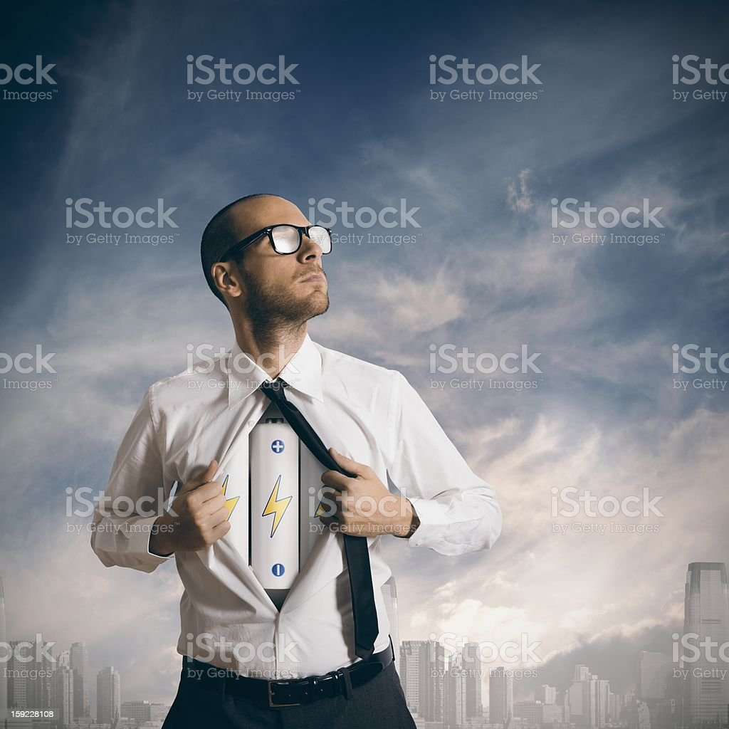 Power in business royalty-free stock photo
