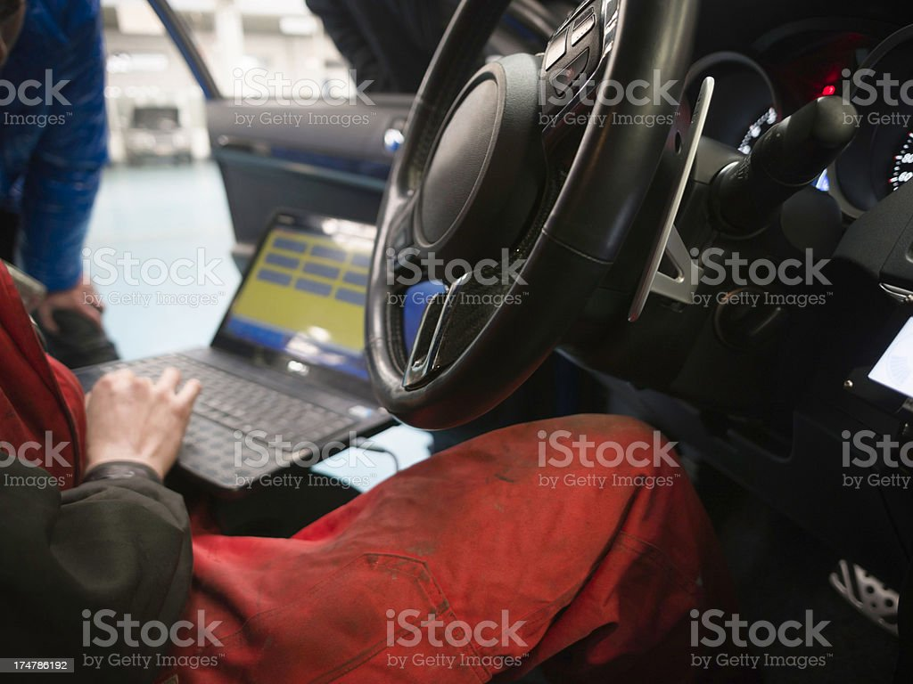 power increase with car royalty-free stock photo