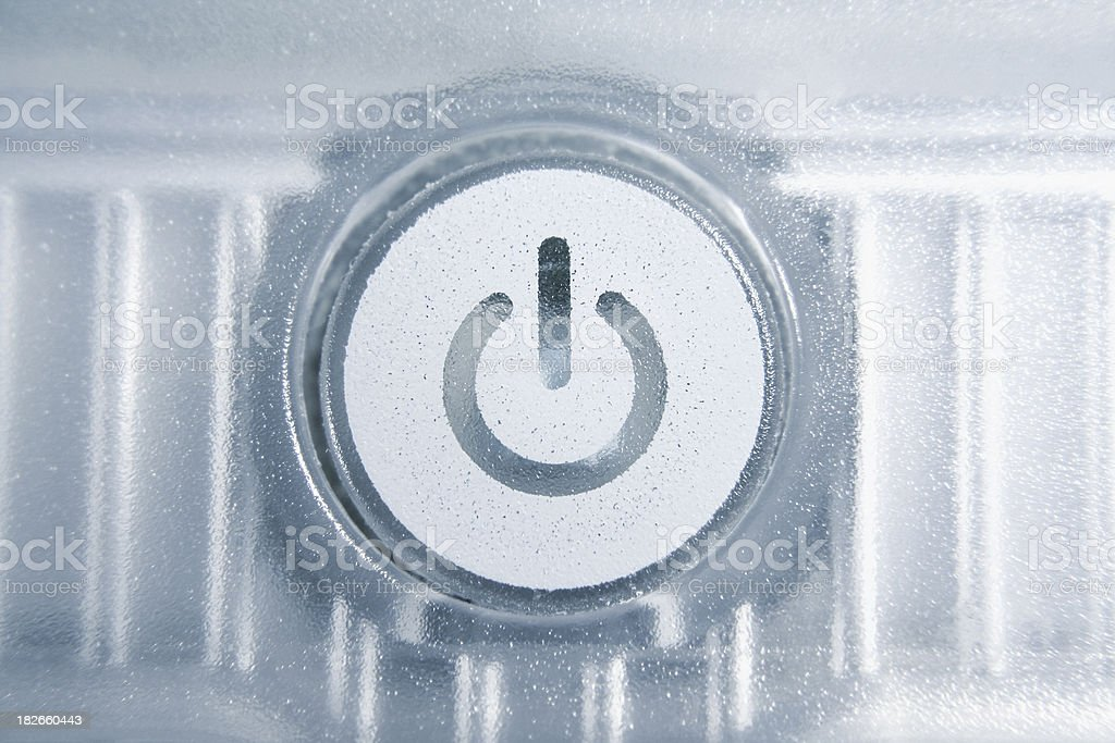 Power key royalty-free stock photo