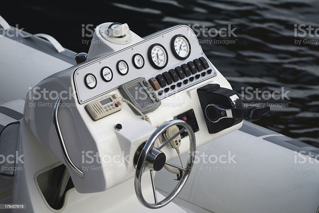 Power Launch Instrumentation stock photo