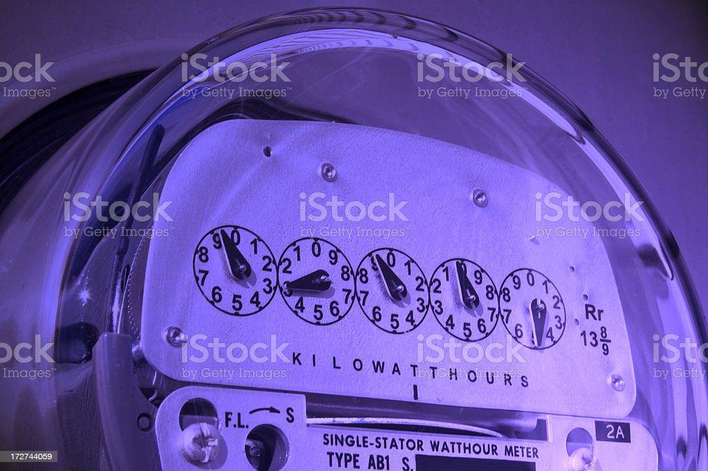 Power Meter stock photo