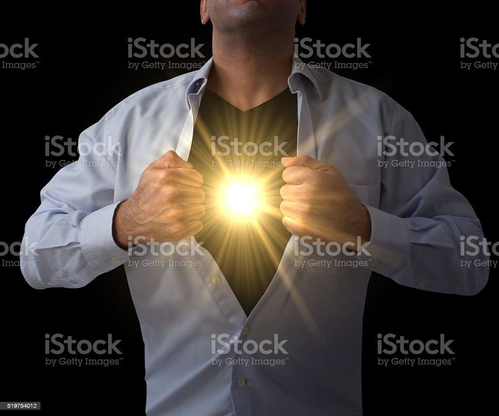 Power of Alternative Energy stock photo