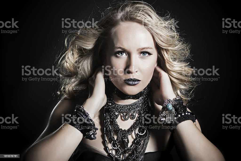 Power of Black royalty-free stock photo