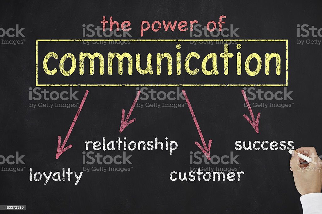 Power of Communication royalty-free stock photo