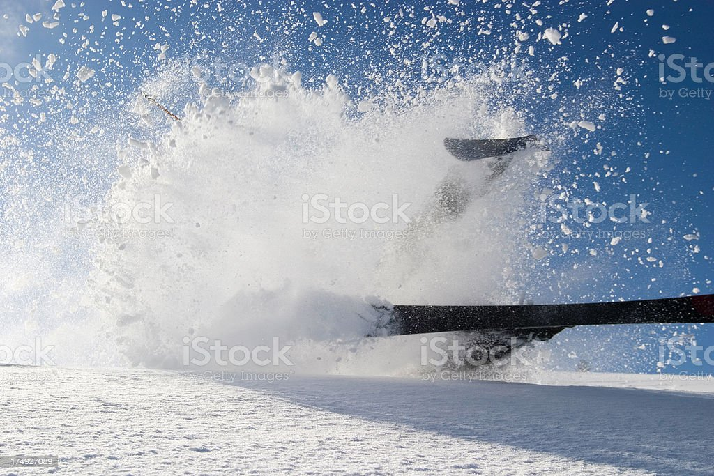 power of powder royalty-free stock photo