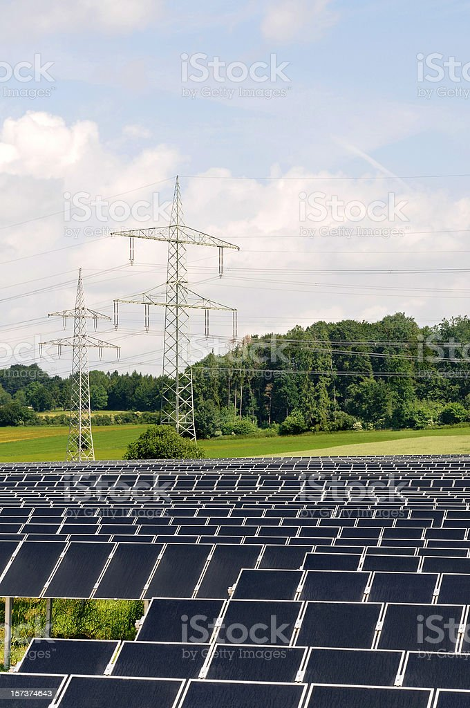 Power of Sun for Nature stock photo