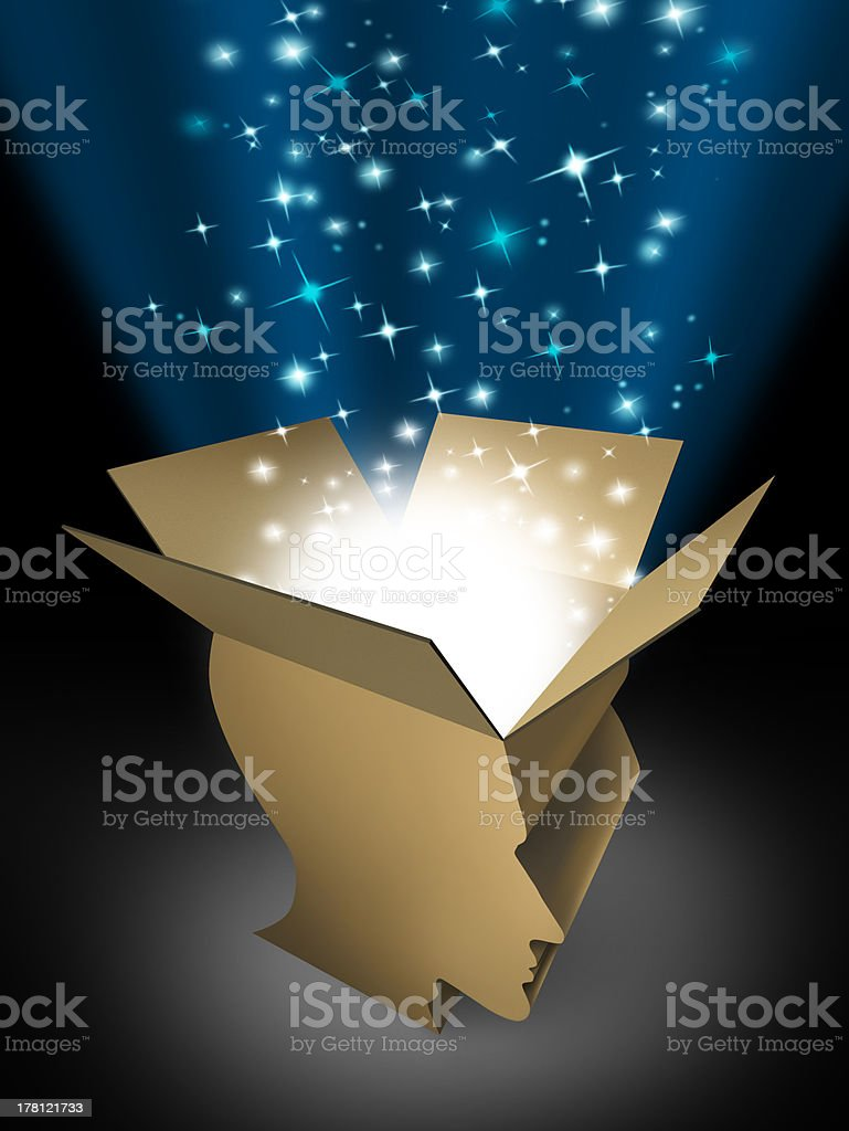 Power Of The Mind royalty-free stock photo
