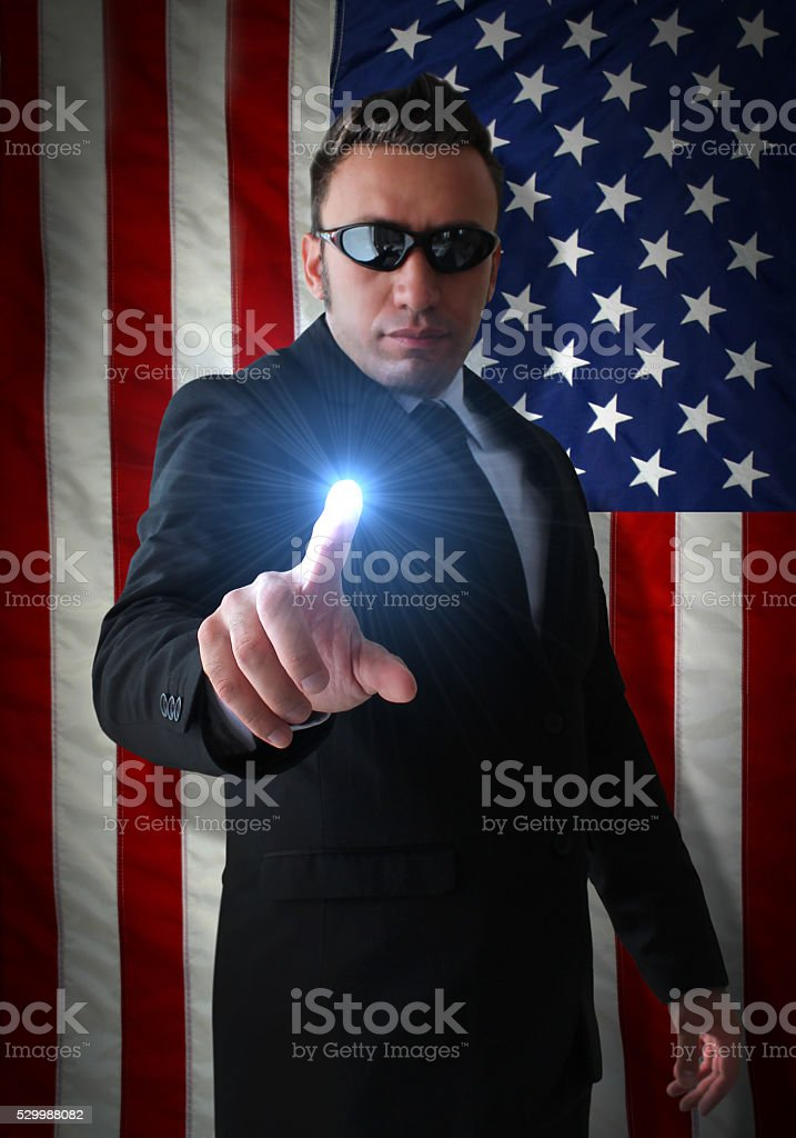 Power of USA stock photo